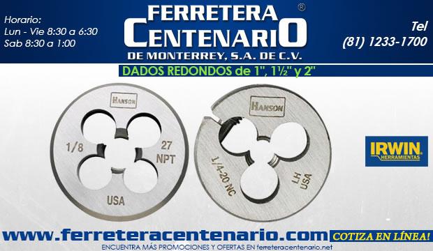dados redondos ferretera centenario de monterrey herramientas corte metal ferretera centenario de monterrey