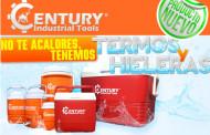 Termos y hieleras marca Century Industrial Tools
