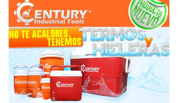 termos y hieleras marca century industrial tools ferretera centenario de monterrey