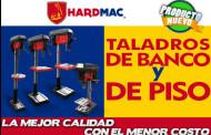 Taladros de banco y de piso marca HardMac