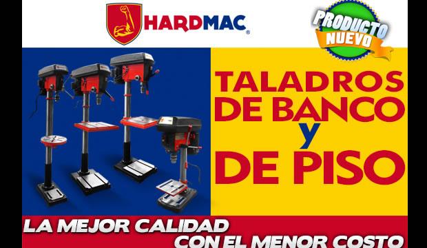 taladros de banco y de piso marca hardmac ferretera centenario de monterrey herramientas