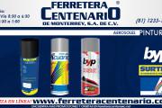 Pinturas en aerosol varias marcas