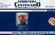 Esmaltes Berel base agua