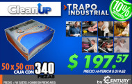 Trapo Industrial Clean Up ---- Oferta