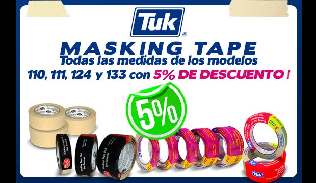 masking tape Tuk oferta ferretera centenario de monterrey precio mexico