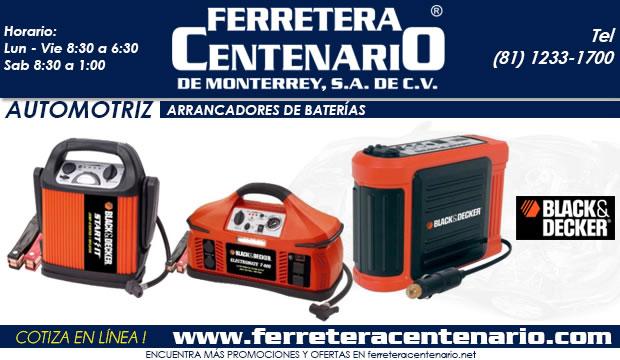 arrancadores de baterias automotrices ferretera centenario de monterrey mexico