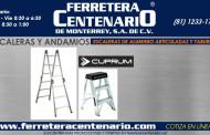 Escaleras de Aluminio articuladas y taburetes