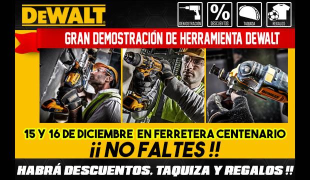 demostracion herramientas dewalt ferretera centenario de monterrey
