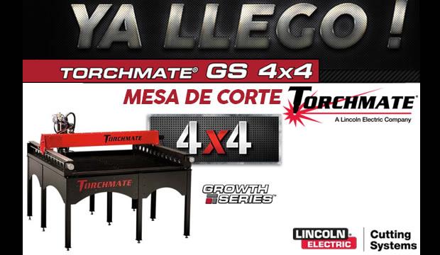 torchmate mesa de corte 4x4 GS Ferretera centenario demonterrey mexico herramientas