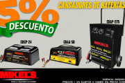 Cargadores de baterias Mikels en oferta