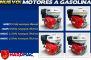 Nuevos motores a gasolina Hardmac