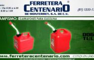 Garrafones para gasolina DogoTuls