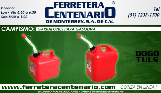 garrafones gasolina dogotuls ferretera centenario de monterrey