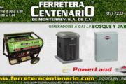 Generadores a gas L.P.