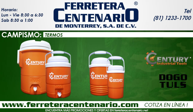 termos century industrial tools ferretera centenario de monterrey