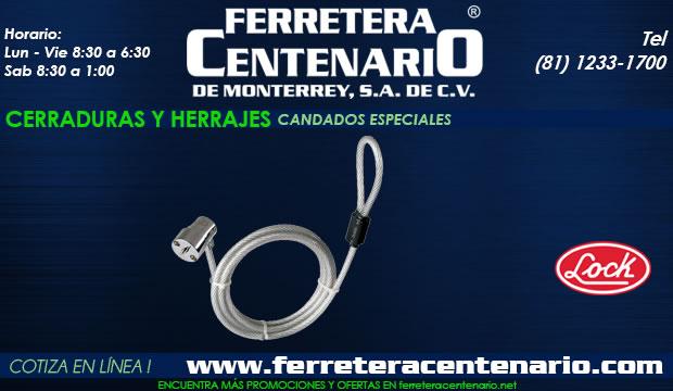 candados especiales Lock Ferretera centenario monterrey mexico cerraduras herrajes