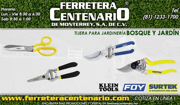 tijera para jardineria bosque jardin ferretera centenario monterrey mexico