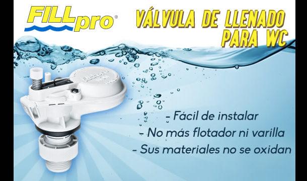 Válvula de llenado para WC - FILL PRO