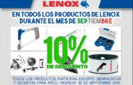 Descuento en todos los productos LENOX durante septiembre 2016
