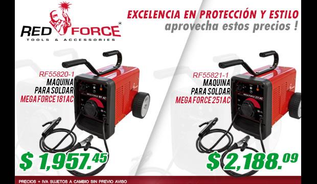 ferretera centenario monterrey mexico red force maquinas soldar precios septiembre 2016