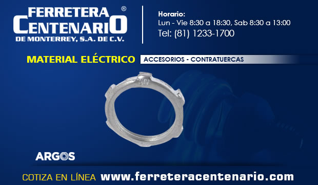 accesoriosmaterial electrico monterrey ferretera centenario mexico contratuercas