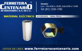 Tierra física - Accesorios para material eléctrico