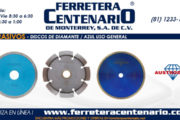 Discos de diamante - azul uso general