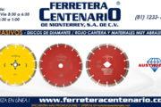 Discos de diamante rojo para cantera y materiales muy abrasivos