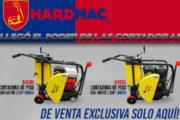Cortadoras de piso Hardmac de venta exclusiva en Ferretera Centenario