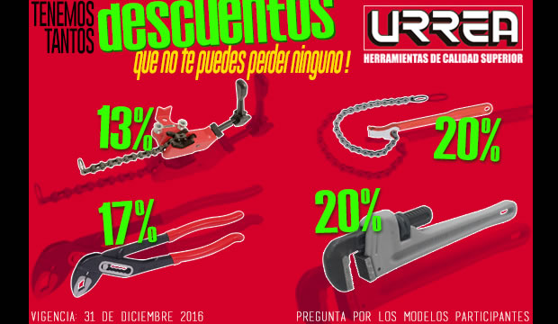 urrea herramientas descuentos tienda mexico ferretera centenario monterrey