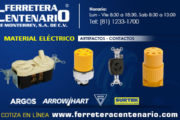 Contactos y material eléctrico