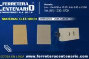 Material Eléctrico - Artefactos - Línea Habitat