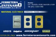 Material Eléctrico - Artefactos - Placas