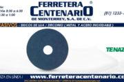 Discos de lija - Zirconio (metal y acero inoxidable)
