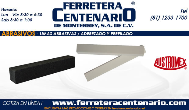 limas barasivas perfilado aderezado ferretera centenario monterrey