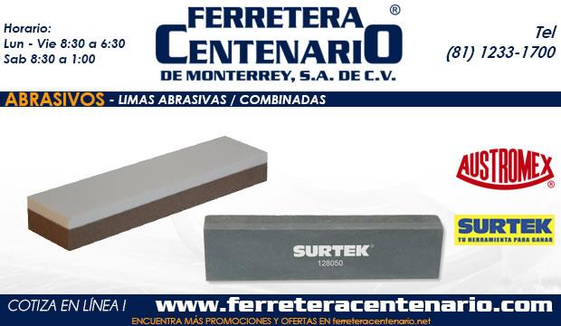 limas abrasivos ferretera centenario monterrey mexico