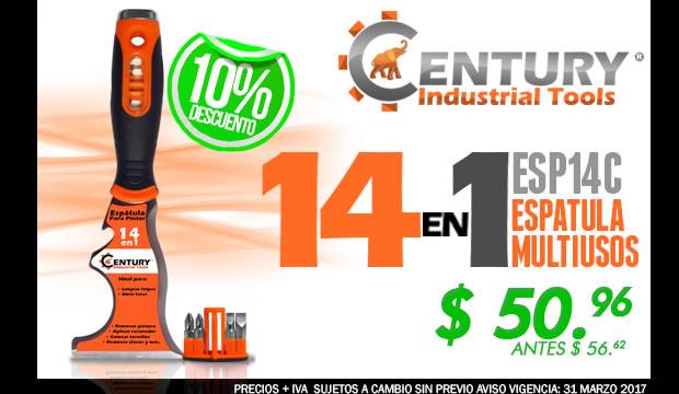 espatula multiusos 14 en 1 century industrial tools ferretera centenario monterrey mexico herramientas tienda