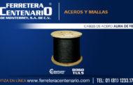 Cable de acero - Alma de fibra