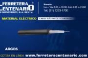 Cables eléctricos coaxiales