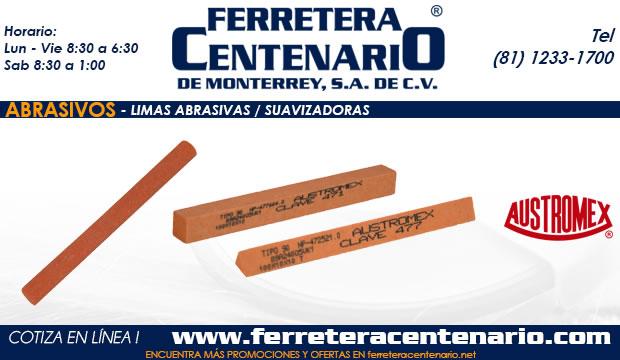 limas abrasivos suavizadores ferretera centenario monterrey