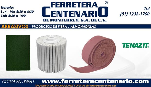 productos de fibra almohadillas ferretera centenario monterrey mexico