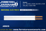 Cables eléctricos tipo POT