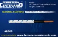 Cables eléctricos tipo automotriz