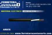 Cables eléctricos de Uso Rudo
