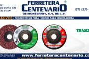 Productos de fibra - Discos para esmeriladoras