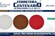 Discos para pulir pisos - Productos de fibra