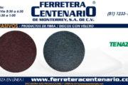 Discos con velcro - Productos de fibra