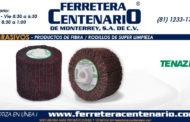 Rodillos de super limpieza de fibra