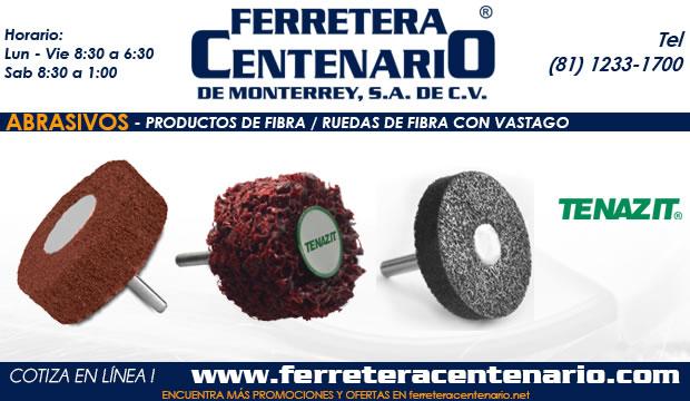 ruedas de fibra vastago ferretera centenario monterrey mexico
