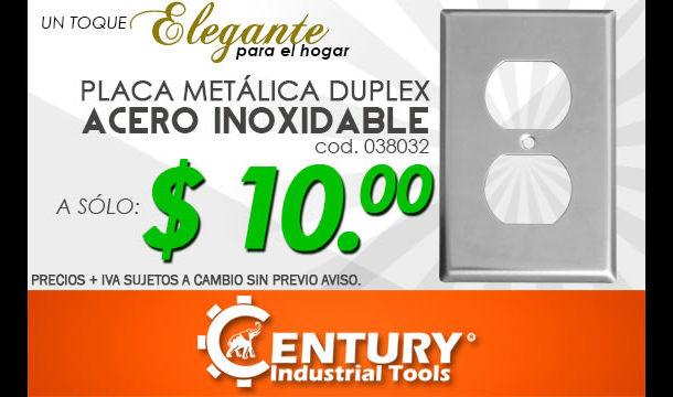 Placa metálica duplex de acero inoxidable
